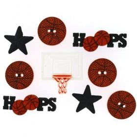 Dekoratif Düğme Basketbol 421