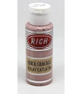 Rich Quick Crackle 59 Pudra Pembe (Kolay Çatlatma) 70 ml