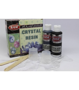 Rich Crystal Resin Kristal Reçine Set 195 cc