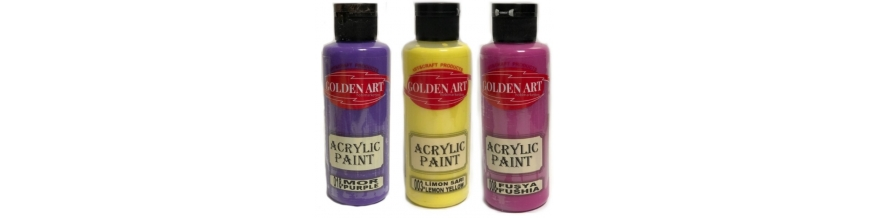 Golden Art Akrilik Boya 130cc - 500cc